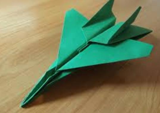 cara membuat pesawat terbang dari kertas