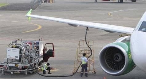 Bahan bakar pesawat terbang